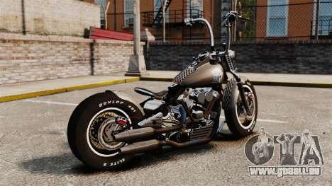 Harley-Davidson Knucklehead v2 pour GTA 4 est une gauche