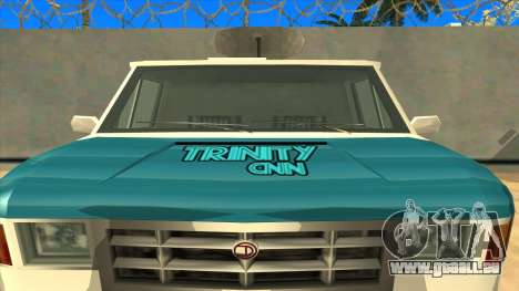 News Van HQ für GTA San Andreas rechten Ansicht