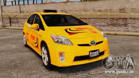 Toyota Prius 2011 Adelaide Taxi für GTA 4