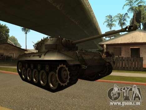 M18-Hellcat für GTA San Andreas linke Ansicht