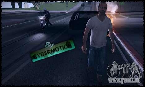 Trevor, Michael, Franklin pour GTA San Andreas septième écran