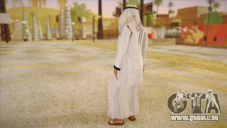 Cheikh arabe pour GTA San Andreas deuxième écran