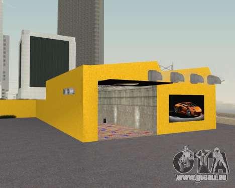Lamborghini Dealer San Fierro pour GTA San Andreas cinquième écran