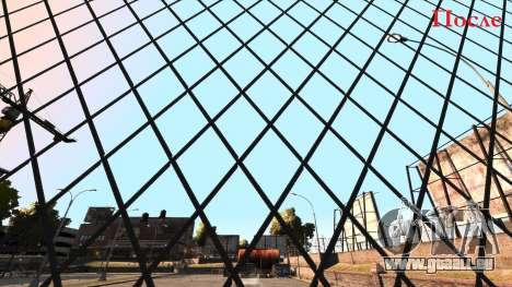 Verlegenheit Konturenschärfe Zaun aus Mesh-Netzg für GTA 4
