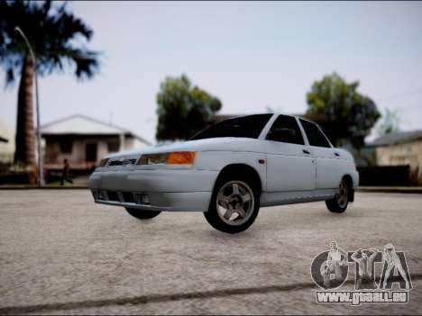 VAZ 2110 restylage pour GTA San Andreas laissé vue