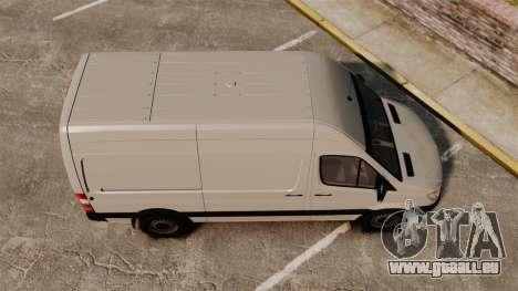 Mercedes-Benz Sprinter 2500 Delivery Van 2011 pour GTA 4 est un droit