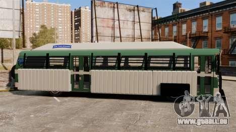 Gepanzerter bus für GTA 4 linke Ansicht