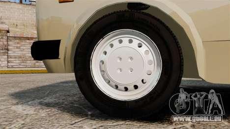 Zastava Yugo 128 für GTA 4 Rückansicht
