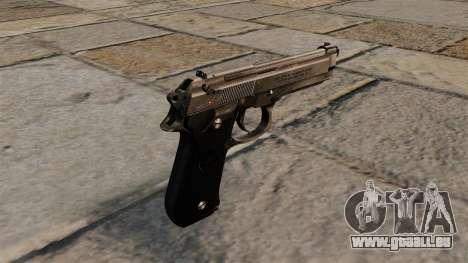 Pistolet semi-automatique Beretta 92 pour GTA 4 secondes d'écran