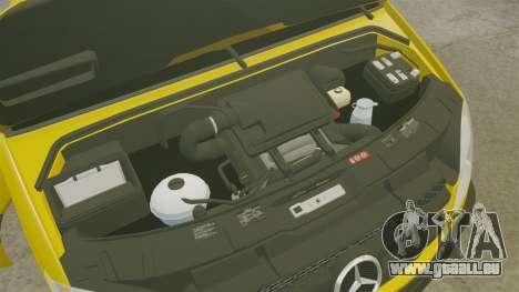 Mercedes-Benz Sprinter 2500 Delivery Van 2011 für GTA 4 Rückansicht