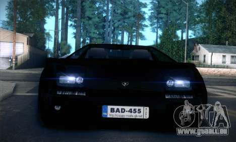 Lamborghini Diablo VT6.0 für GTA San Andreas obere Ansicht