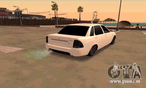 Lada Priora Sport für GTA San Andreas zurück linke Ansicht
