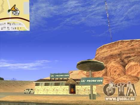 Nouvelles textures pour intérieur pour GTA San Andreas neuvième écran