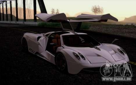 FF SG ULTRA pour GTA San Andreas quatrième écran