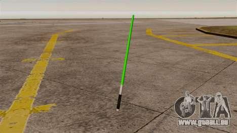 Grüne Laser-Schwert Star Wars für GTA 4