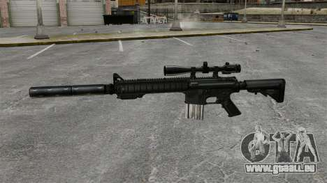 Die SR-25 Sniper rifle für GTA 4 dritte Screenshot