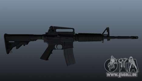 M4 Carbine pour GTA 4 troisième écran