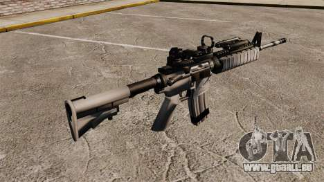 Automatische M4 rot Dop-v1 für GTA 4 Sekunden Bildschirm