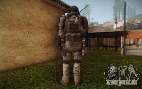 COD MW3 Heavy Commando für GTA San Andreas dritten Screenshot