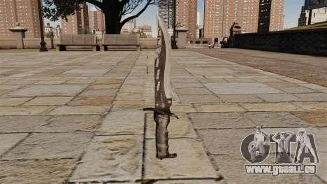 Couteau de combat élite, le Raider de lame pour GTA 4