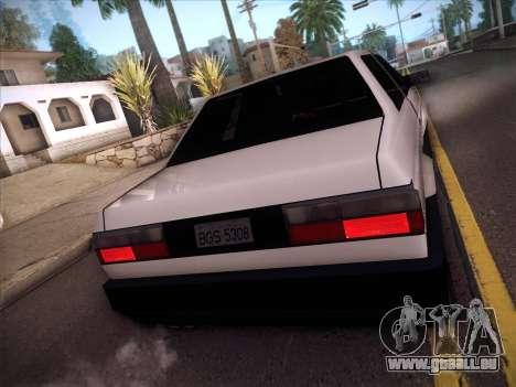 Volkswagen Voyage GL 94 2.0 pour GTA San Andreas vue intérieure