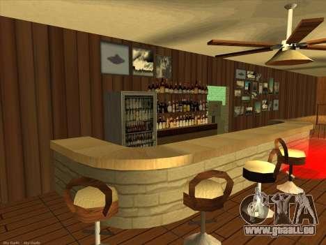 Nouvelles textures pour intérieur pour GTA San Andreas deuxième écran