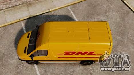 Mercedes-Benz Sprinter 2500 Delivery Van 2011 für GTA 4 rechte Ansicht