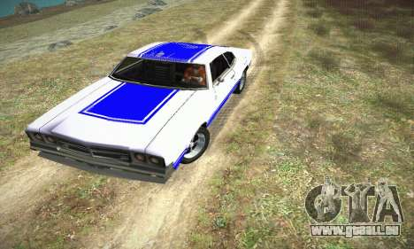 GTA IV Sabre Turbo pour GTA San Andreas