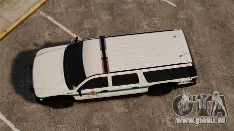 GTA V Declasse Granger Park Ranger für GTA 4 rechte Ansicht