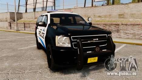 Chevrolet Tahoe Police [ELS] pour GTA 4