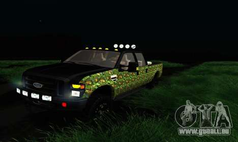 Ford F-250 Realtree Camo Lifted 2010 für GTA San Andreas linke Ansicht