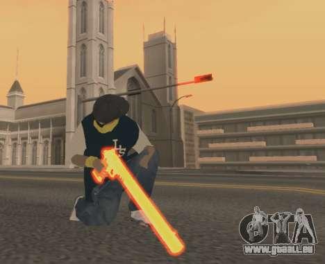Vagos Gun Pack für GTA San Andreas