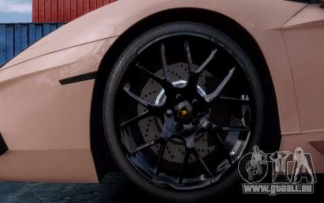 Lamborghini Aventador LP760-4 Oakley Design pour GTA 4 vue de dessus