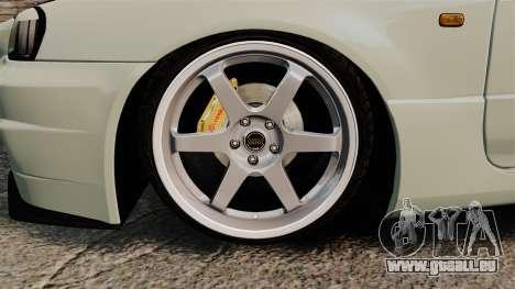 Nissan Skyline GT-R V-Spec II Mk.X [R34] pour GTA 4 Vue arrière