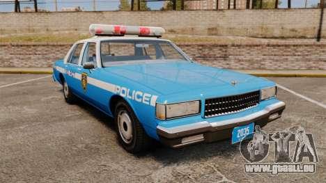 Chevrolet Caprice 1987 LCPD pour GTA 4