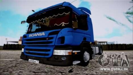 Scania P400 für GTA San Andreas rechten Ansicht