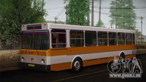 LIAZ peau 5256.00 3-Pack pour GTA San Andreas laissé vue