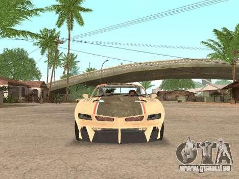 AMC Javelin AMX für GTA San Andreas Rückansicht