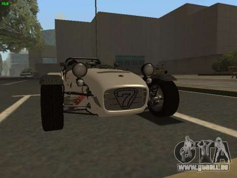 Caterham 7 Superlight R500 pour GTA San Andreas
