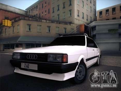 Audi 80 B2 v2.0 pour GTA San Andreas vue de dessus