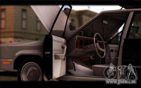 Ford Fairmont 1978 4dr Police für GTA San Andreas rechten Ansicht