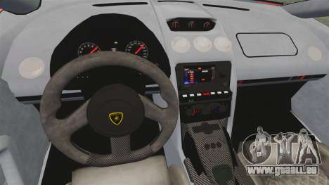 Lamborghini Gallardo 2013 für GTA 4 Innenansicht