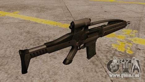 HK XM8 Sturmgewehr für GTA 4 Sekunden Bildschirm