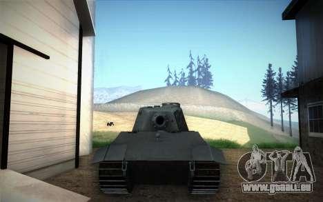 E-75 Tiger III für GTA San Andreas rechten Ansicht