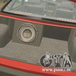 Volkswagen Passat B3 1995 pour GTA 4 est un côté