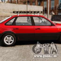 Volkswagen Passat B3 1995 pour GTA 4 est une gauche
