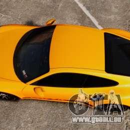 Porsche 911 Turbo 2014 [EPM] Turbo Side Stripes für GTA 4 rechte Ansicht
