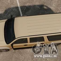 GTA V Declasse Granger 3500LX pour GTA 4 est un droit