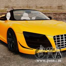Audi R8 GT Spyder pour GTA 4