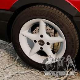 Volkswagen Passat B3 1995 pour GTA 4 Vue arrière
